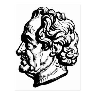 German writer Goethe Postcard