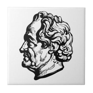 German writer Goethe Tile