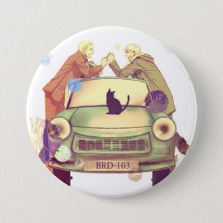 Germancest - Hetalia 7.5 Cm Round Badge