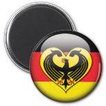 GermanFlag Love Magnet