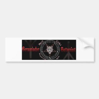 Germanic Satanist Bumper Sticker