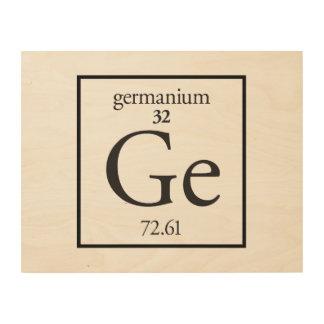 Germanium Wood Prints
