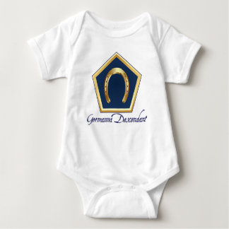 Germanna Descendant Baby Bodysuit