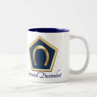 Germanna Descendant Two-Toned Mug