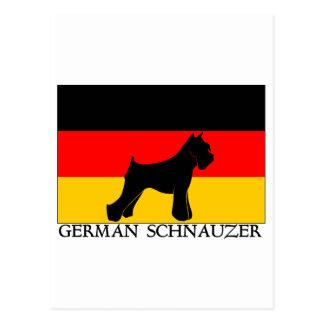 GermansSchnauzer Postcard