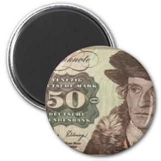 Germany 50 Mark Note Fridge Magnet