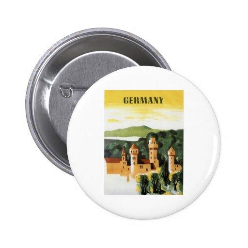 Germany 6 Cm Round Badge