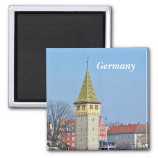 Germany - Ancient Lighthouse in Lindau Magnet