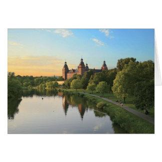 Germany, Aschaffenburg, Schloss (castle) Greeting Card