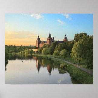 Germany, Aschaffenburg, Schloss (castle) Poster