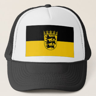 Germany Baden Wurttemberg Flag Trucker Hat