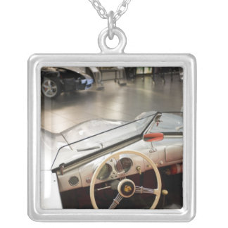 Germany, Baden-Wurttemberg, Square Pendant Necklace