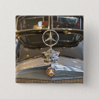 Germany, Baden-Wurttemberg, Stuttgart. Mercedes 15 Cm Square Badge