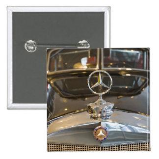 Germany Baden-Wurttemberg Stuttgart Mercedes Button
