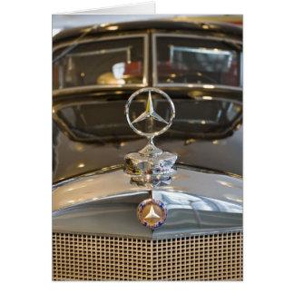 Germany, Baden-Wurttemberg, Stuttgart. Mercedes Card