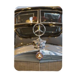 Germany, Baden-Wurttemberg, Stuttgart. Mercedes Rectangular Photo Magnet