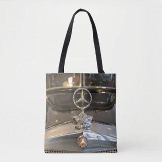 Germany, Baden-Wurttemberg, Stuttgart. Mercedes Tote Bag