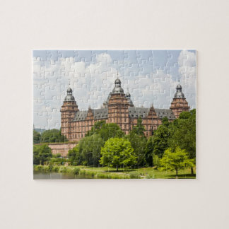 Germany, Bavaria, Bayern, Aschaffenburg. Schloss Puzzle
