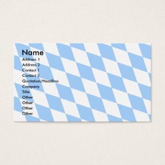 Germany Bavaria Flag Business Card