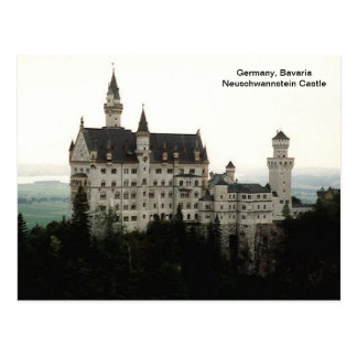 Germany, Bavaria Neuschwannstein Castle Postcard