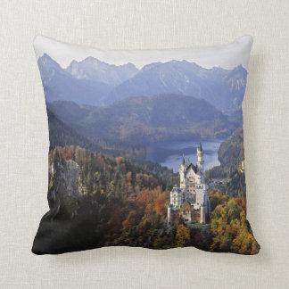 Germany, Bavaria, Neuschwanstein Castle. Cushion