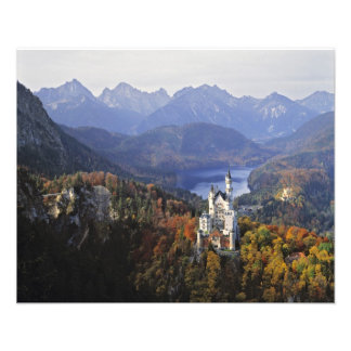 Germany, Bavaria, Neuschwanstein Castle. King Art Photo