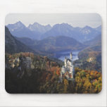 Germany, Bavaria, Neuschwanstein Castle. King Mouse Mat