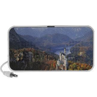 Germany, Bavaria, Neuschwanstein Castle. King Travel Speakers