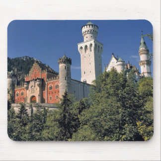 Germany, Bavaria, Neuschwanstein Castle. Mouse Pad