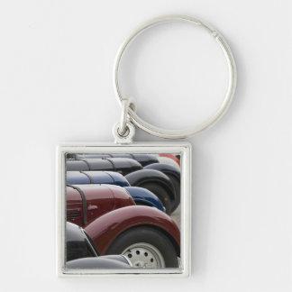 Germany, Bayern-Bavaria, Munich. BMW Welt Car Keychain