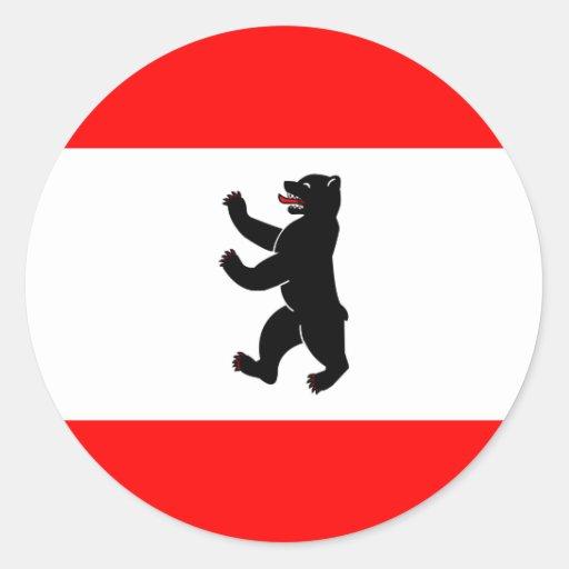 Germany Berlin High quality Flag Sticker