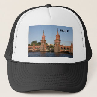 Germany Berlin Oberbaumbrucke (St.K.) Trucker Hat