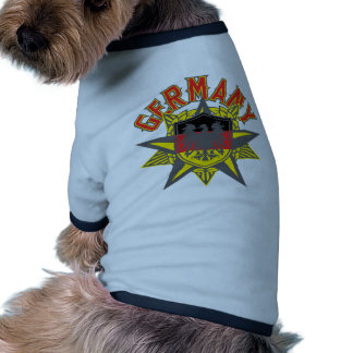 Germany Big and Bold Pet Clothes