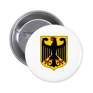 Germany Coat of Arms 6 Cm Round Badge