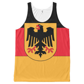 Germany Coat of Arms Flag -.png All-Over Print Singlet