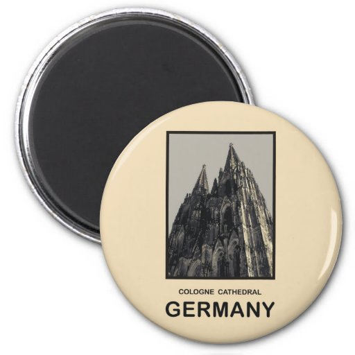 Germany Cologne Cathedral Fridge Magnets