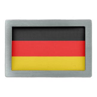 germany country flag rectangular belt buckles