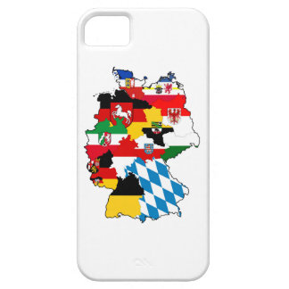 germany country political flag map region province barely there iPhone 5 case