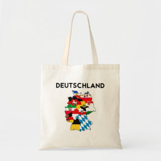 germany country political flag map region province budget tote bag