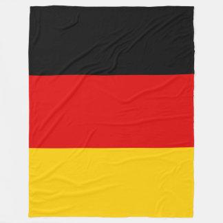 Germany Deutschland flag Fleece Blanket