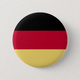 Germany & Deutschland Flag T-Shirts & More! 6 Cm Round Badge