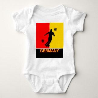 Germany Deutschland Soccer 2010 Baby Grow Baby Bodysuit