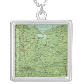 Germany eastern section silver plated necklace