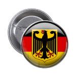 Germany Flag 6 Cm Round Badge
