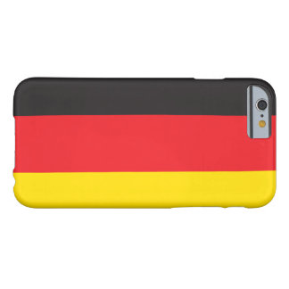 GERMANY FLAG BARELY THERE iPhone 6 CASE