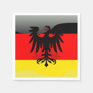 Germany flag-Coat of arms Paper Napkin