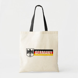 Germany Flag Colours Coat of Arms Soccer Tote Bag