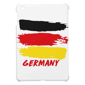 Germany flag designs case for the iPad mini