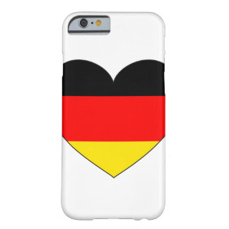 Germany Flag Heart Barely There iPhone 6 Case