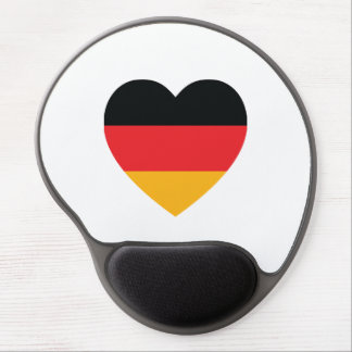Germany Flag Heart Gel Mouse Pad